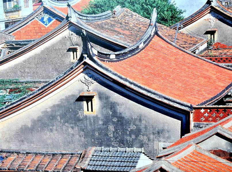 「總成一夢」-金門瓊林村。
